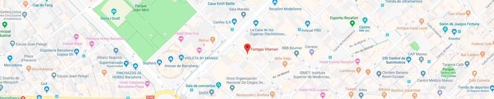 Dirección de Fontgas Vilamari