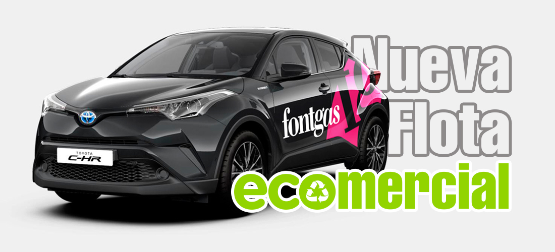 Nueva Flota ECOmercial en Fontgas