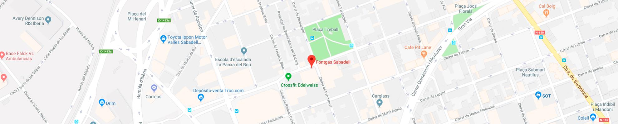 Dirección de Fontgas Sabadell