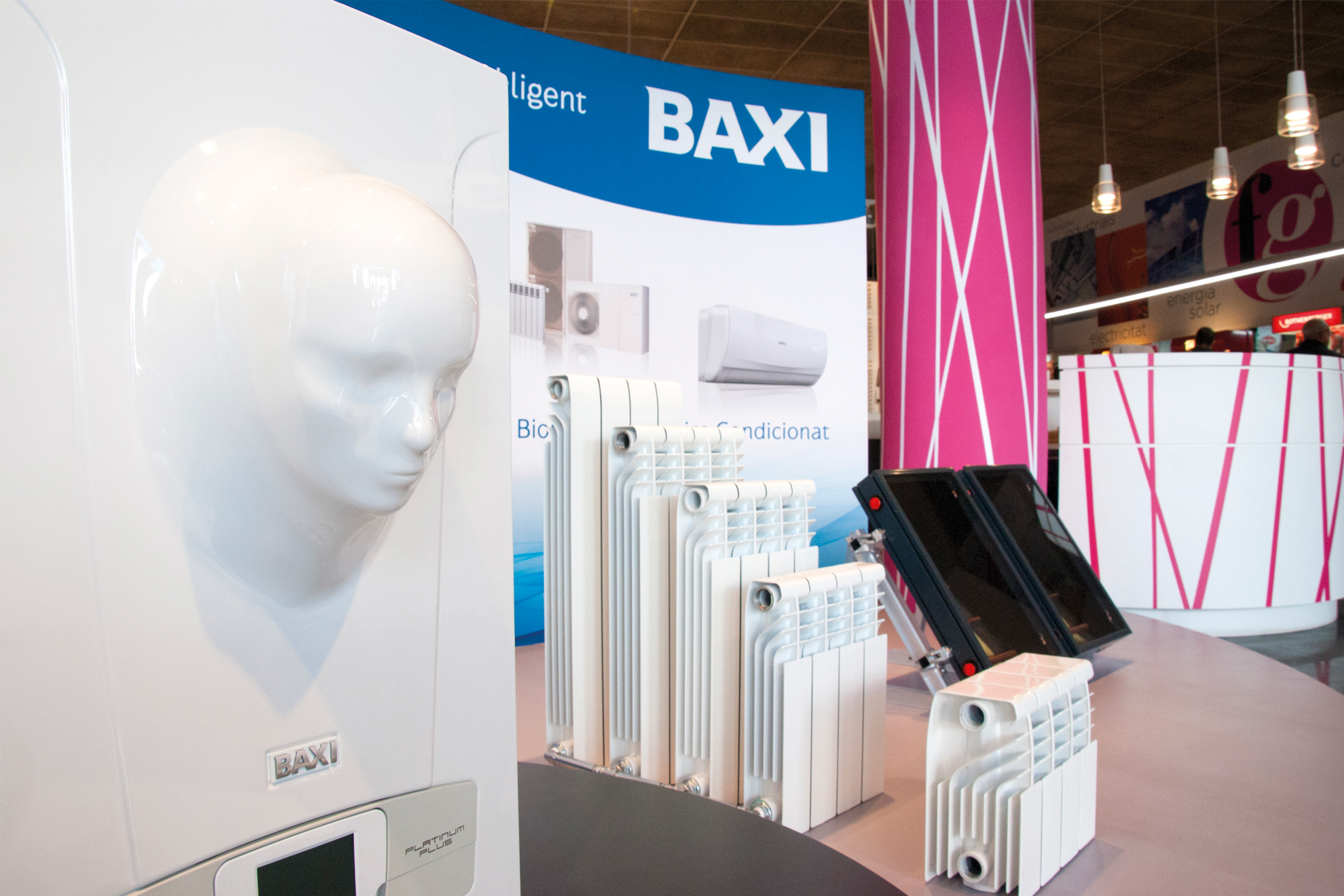 stand exclusivo baxi fontgas sabadell