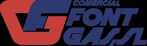 Logo antiguo comercial fontgas