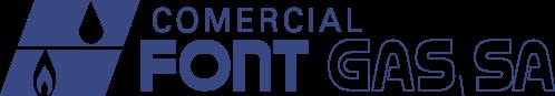 Logotipo comercial fontgas