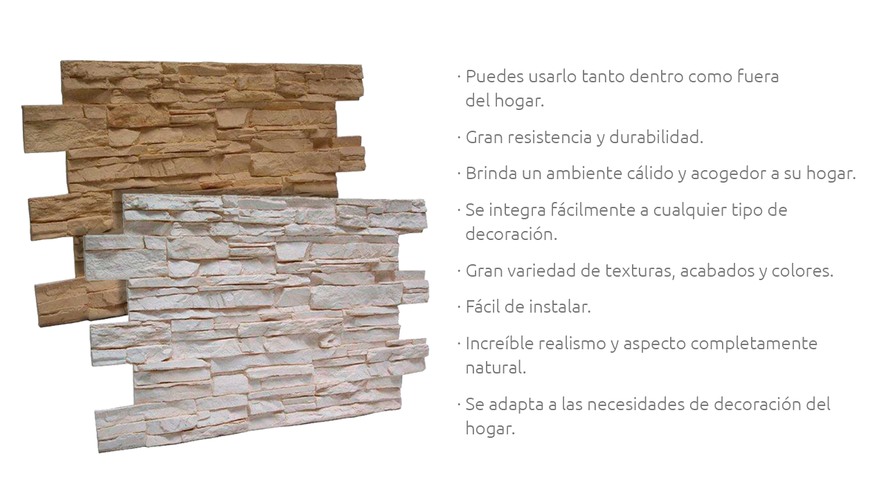 Panel Piedra