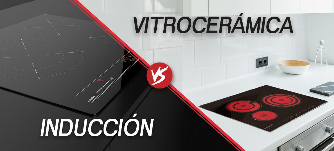 Vitrocerámica vs inducción